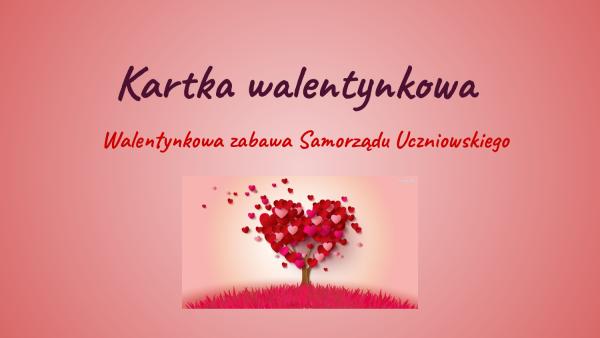 Walentynkowy konkurs Samorządu Uczniowskiego rozstrzygnięty!