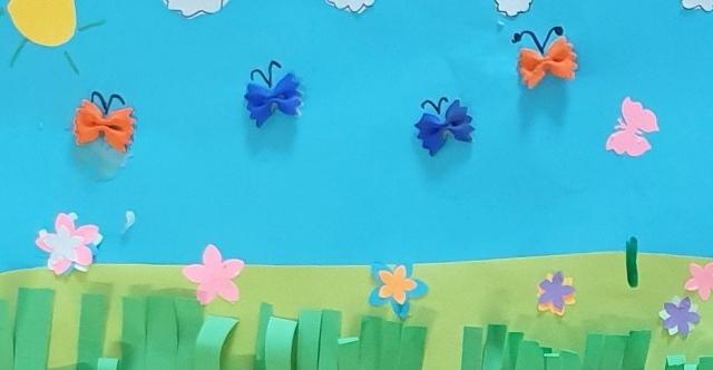 """Świetlicowy projekt edukacyjny """"Spotkanie z wiosną"""""""